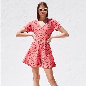 Zara cherry print dress